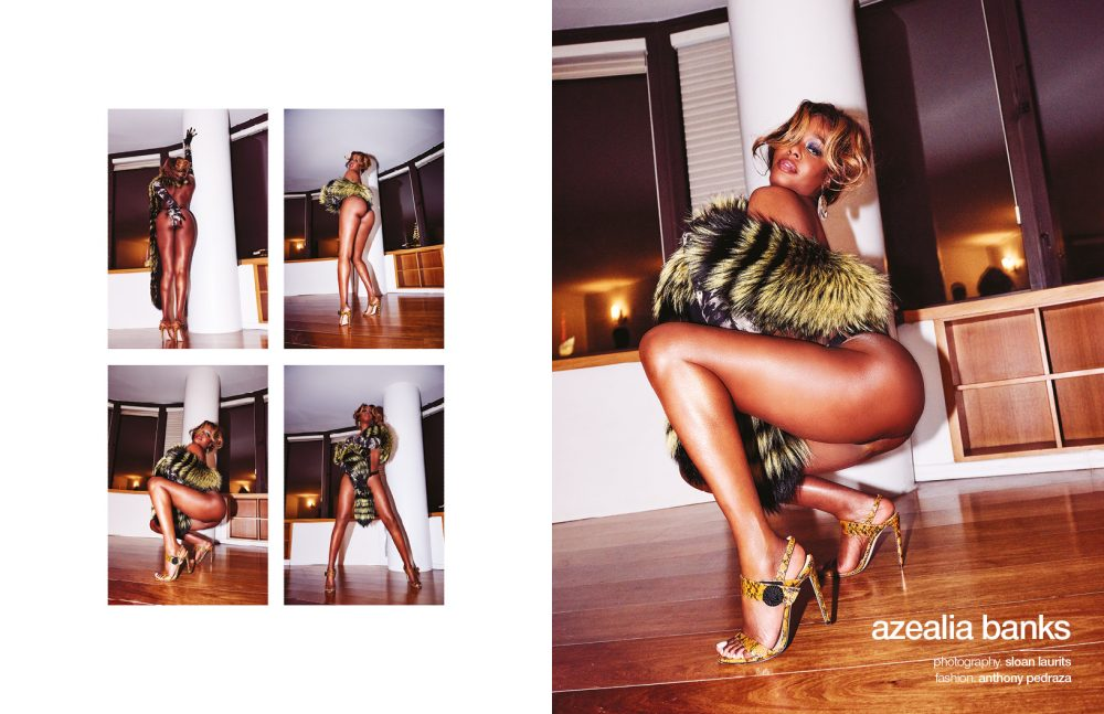 Shon Magazine - Azealia Banks - Silchester Brief