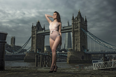 Bluebella Tower Bridge London - Lingerie Shoot
