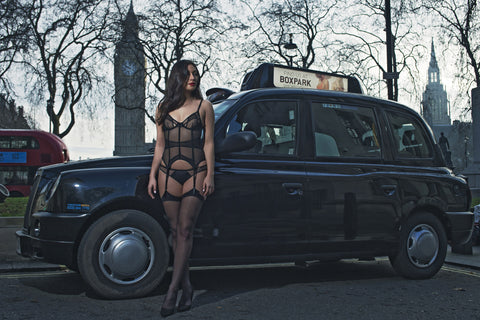 Bluebella stops London traffic - Lingerie