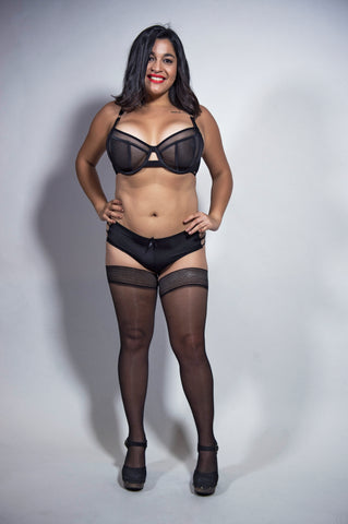 Bluebella Dare to Bare Oxford Circus shoot for London Fashion Week LWF Octavia Bra Lingerie