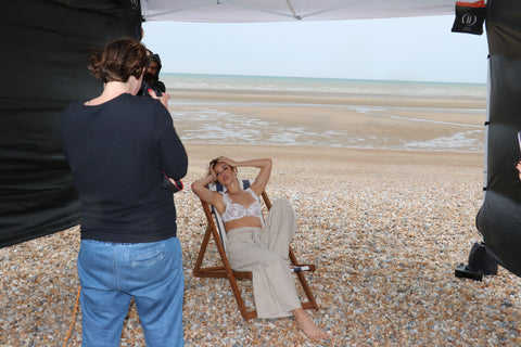 Bluebella spring summer 2018 ss18 new in new collection lingerie nightwear beach behind the scenes bts