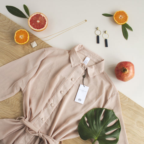 Nightwear - Phoebe Shirt Rose Dust