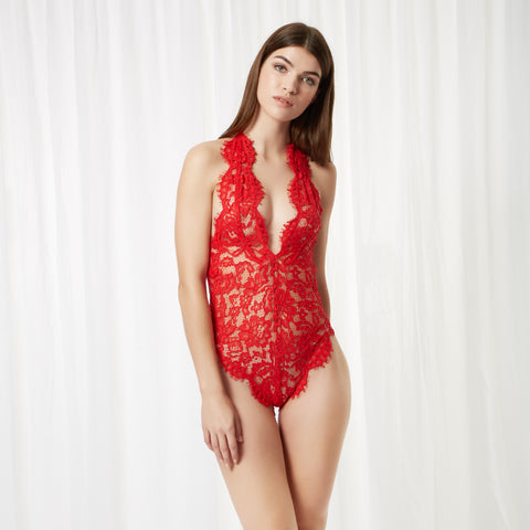 Natalia Body in Red