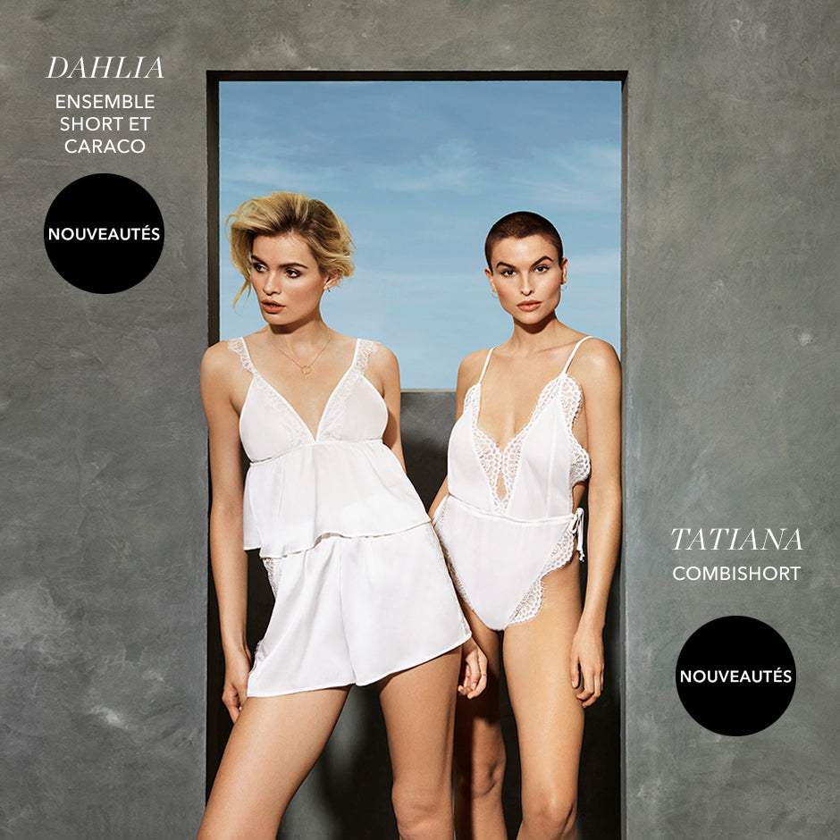 Dahlia and Tatiana - New In