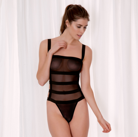 Bluebella Lingerie - AngeIina Body Black