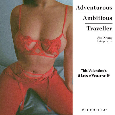 #LoveYourself Pandora Bra Red