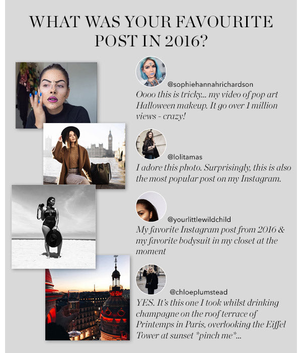 WHAT WAS YOUR FAVOURITE POST IN 2016?
