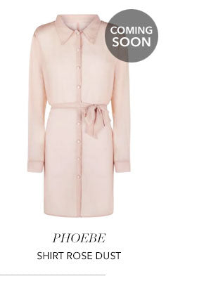 Phoebe Shirt Rose Dust - London Fashion Week