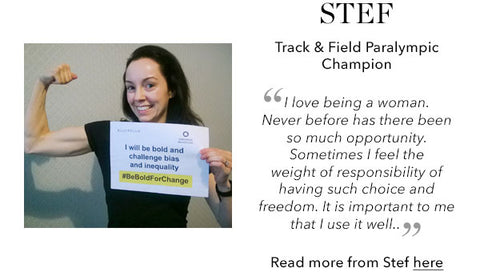 Stef Paralympian - International Women's Day