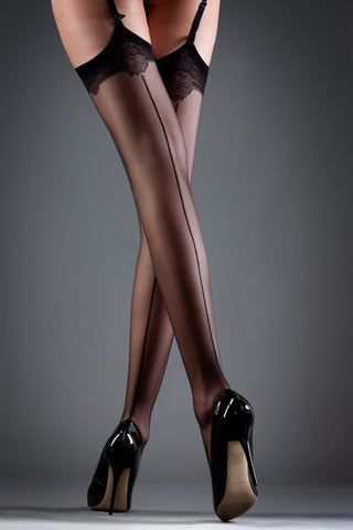 Bluebella hosiery - back-seamed stockings