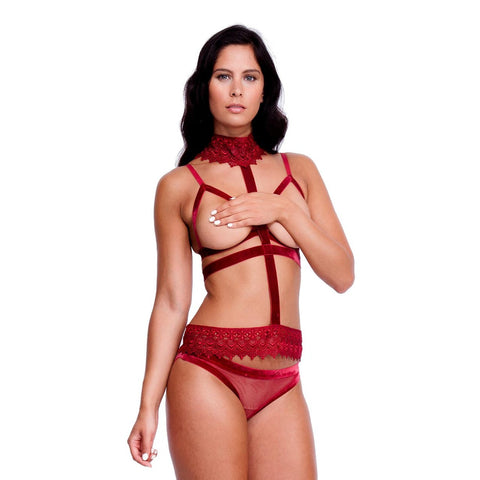 Ines Harness Red