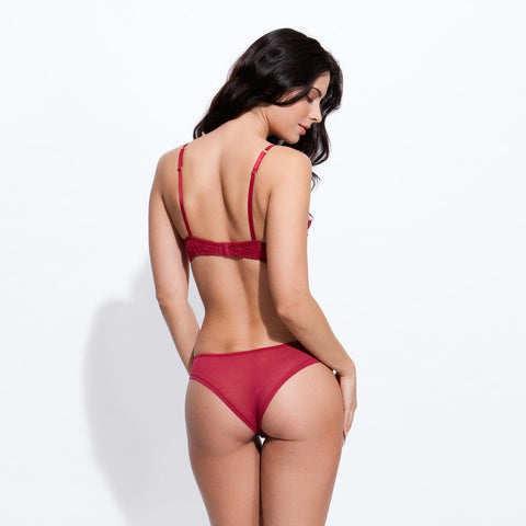 Christabel Bra Red