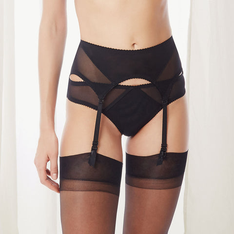 Caterina Suspender Black
