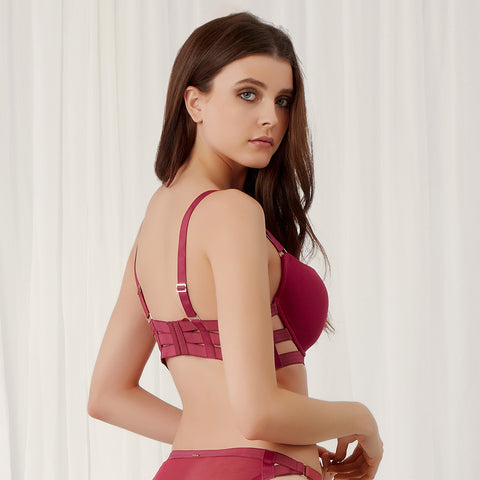 MORE Aura Bra Raspberry