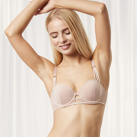 Laura Balcony Bra Rose Dust