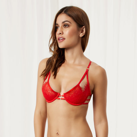Arabella Bra Red