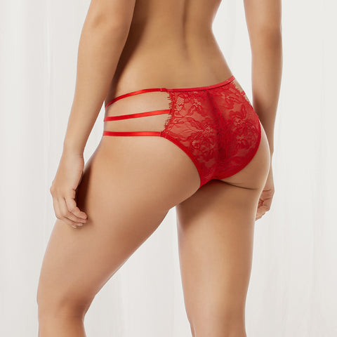Arabella Brief Red