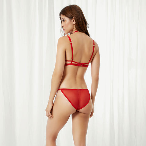 Pandora Harness Brief Red
