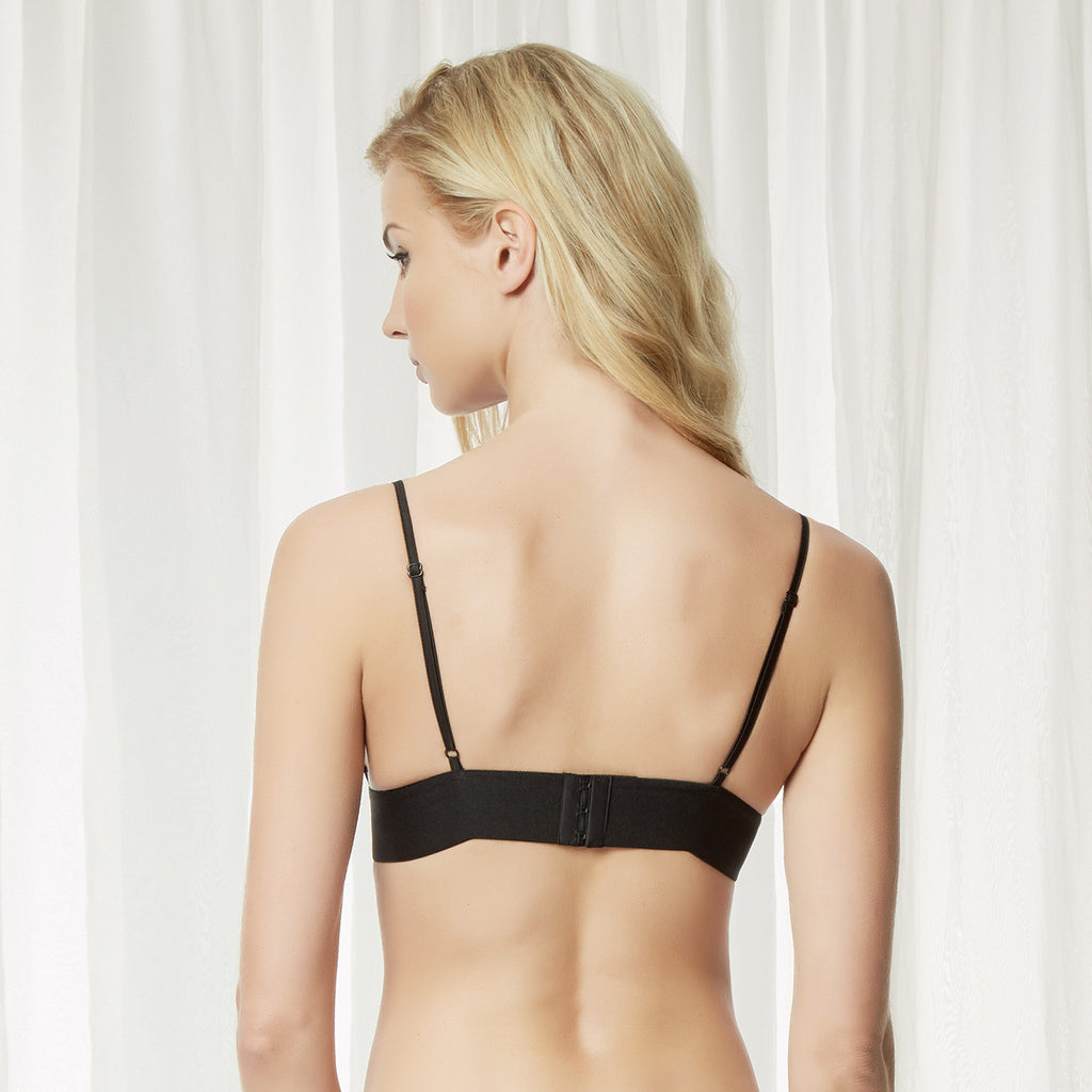 Gia Triangle Bra Black