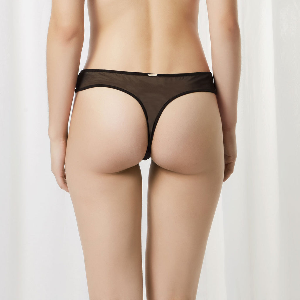 Saffy Thong Black