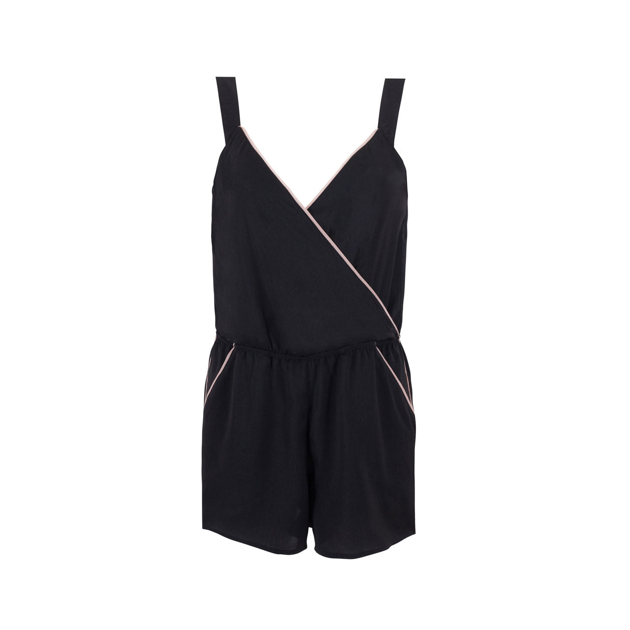 929f7d90a04 Kara Short Playsuit Black – Bluebella