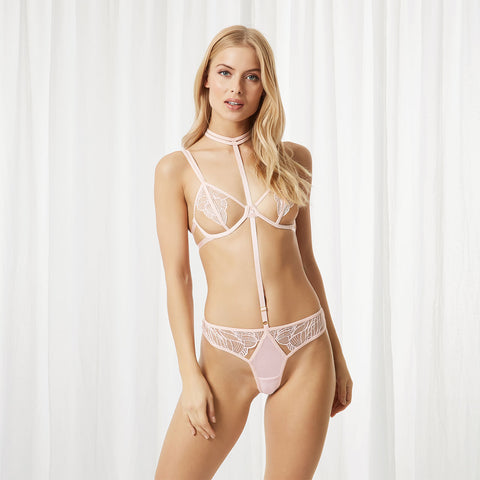 Emerson Harness Brief Pink