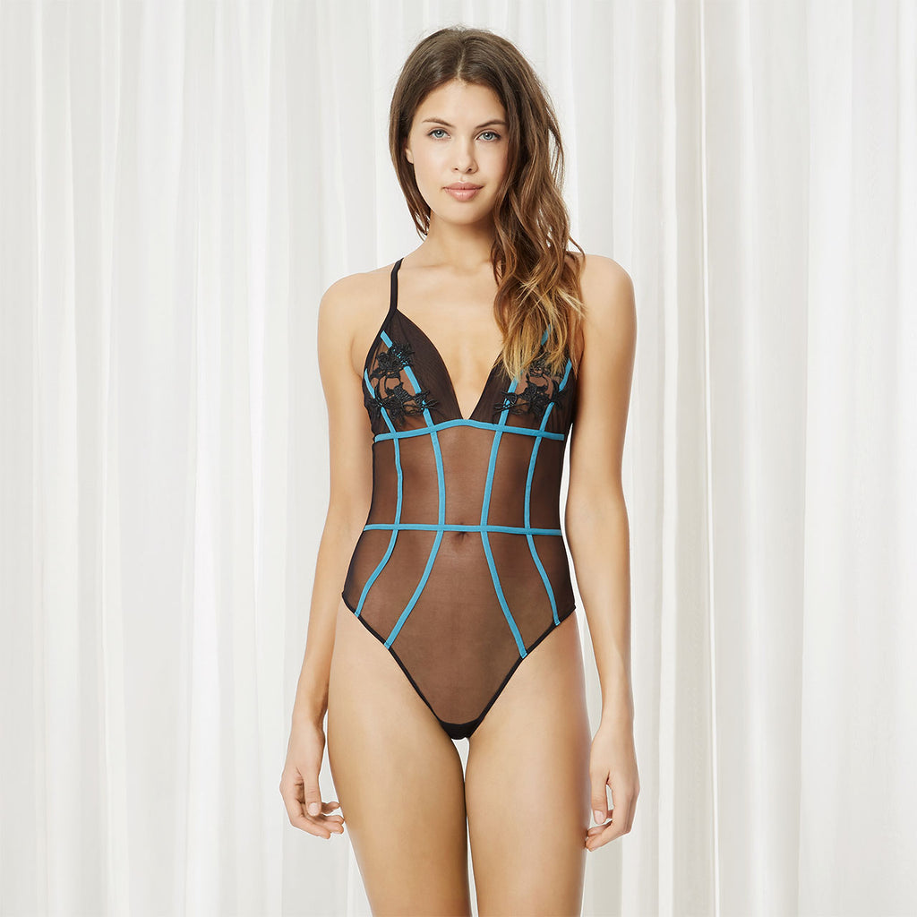 Tigerlily Taylor Contrast Body by Bluebella