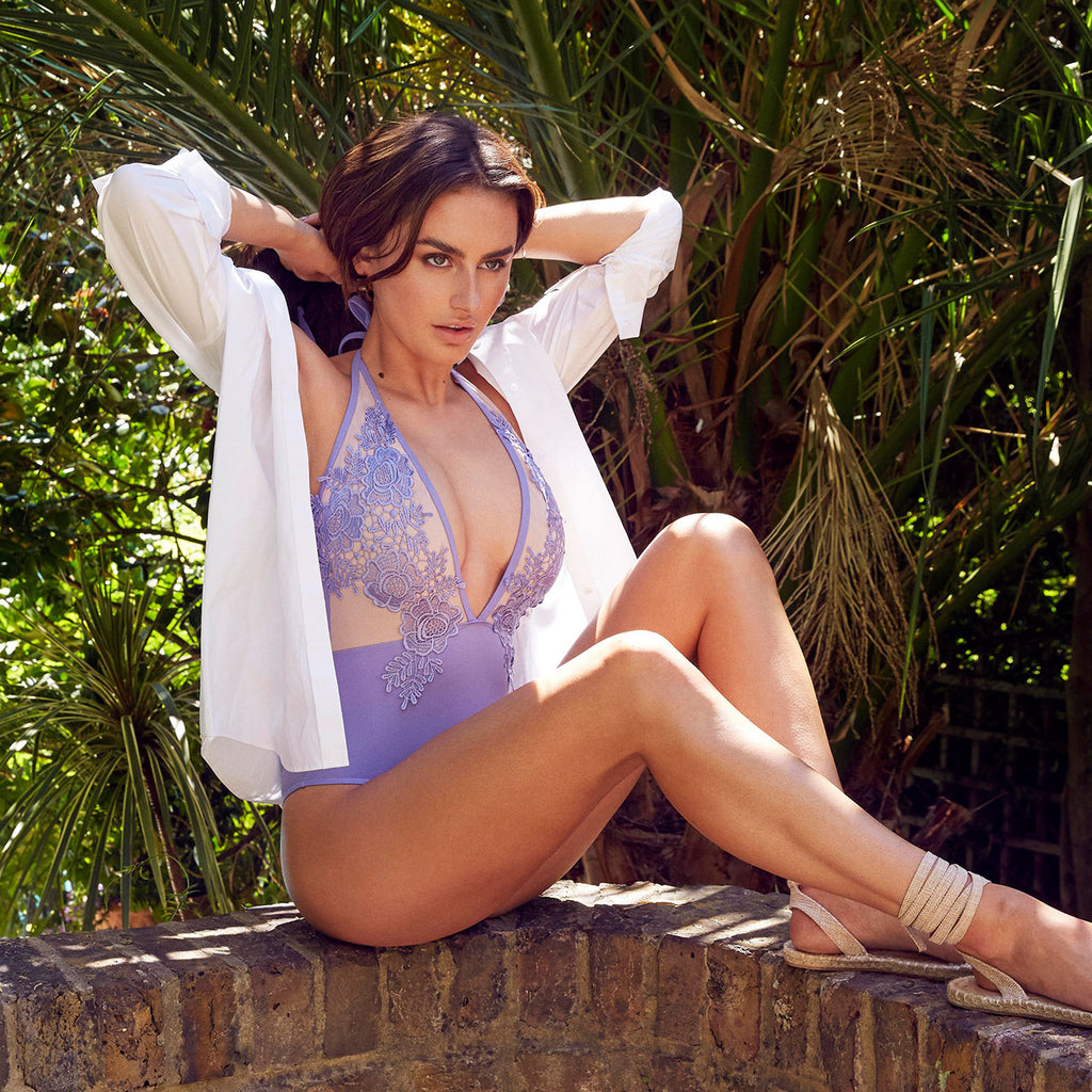 Cilicia Swimsuit Deep Lilac