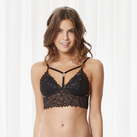 Addison Soft Bra Black
