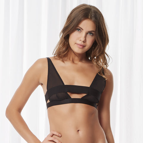 Silchester Soft Bra Black