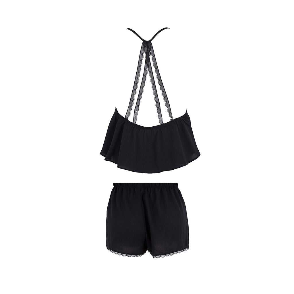 Olivia Cami & Short Black