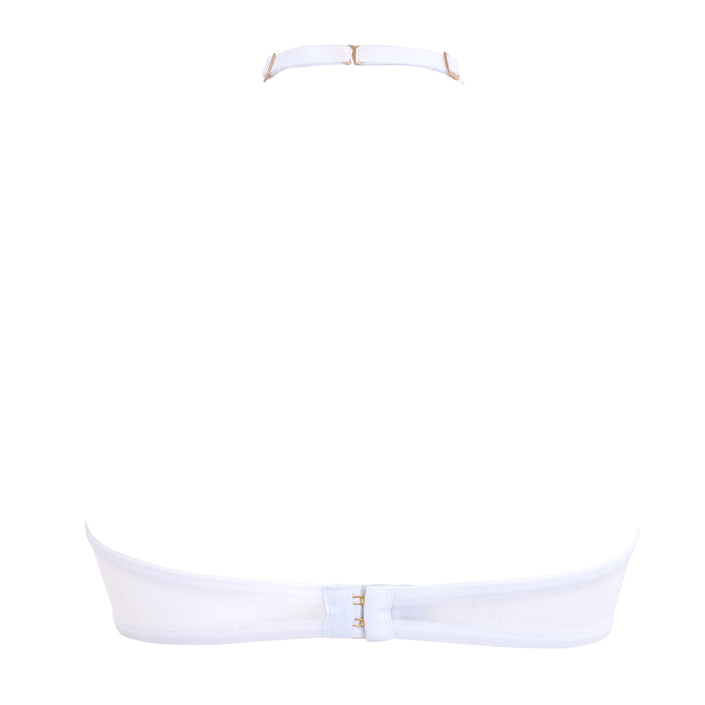 Addison Bra White