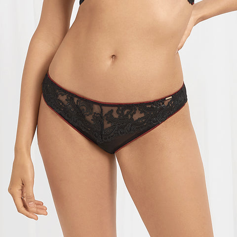 Mara Brief Black/Cordovan
