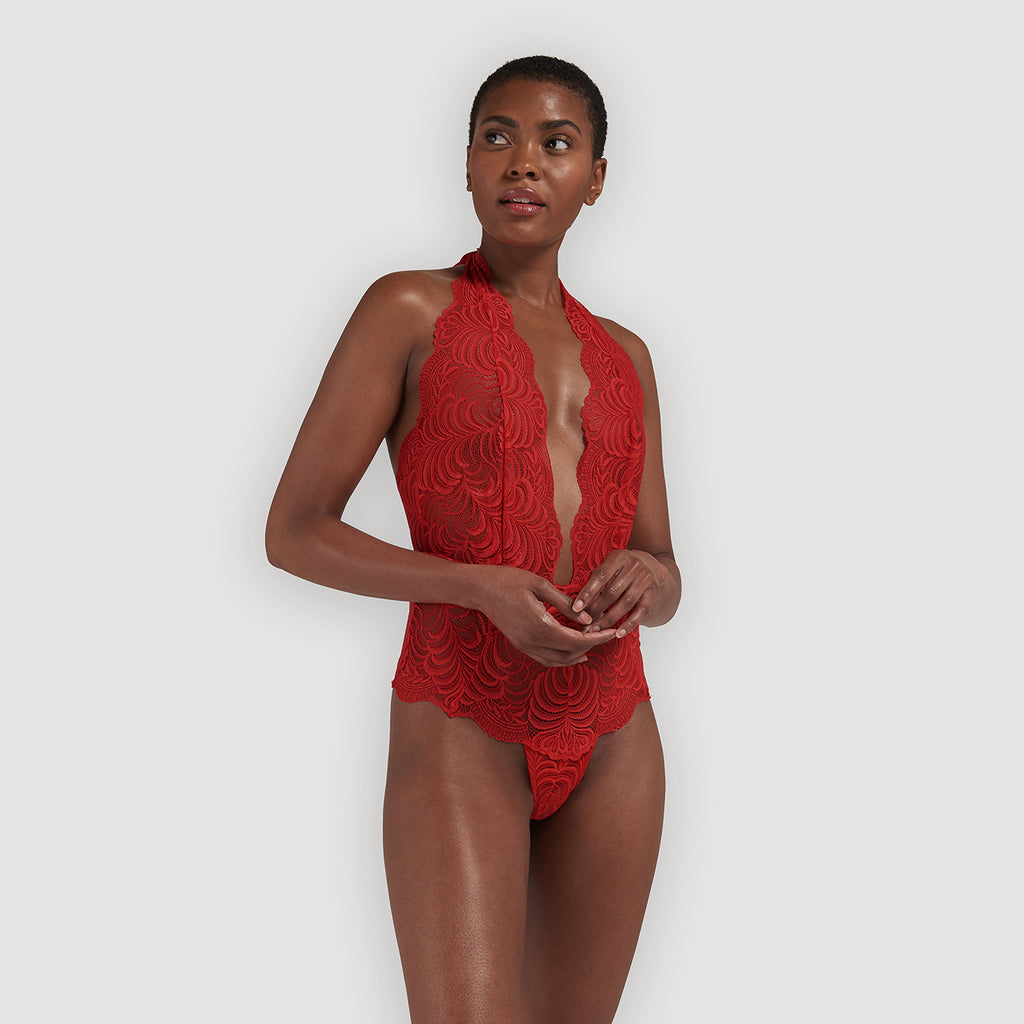Genevieve Body red