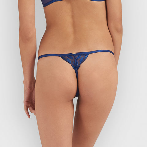 Adelita Thong Blue