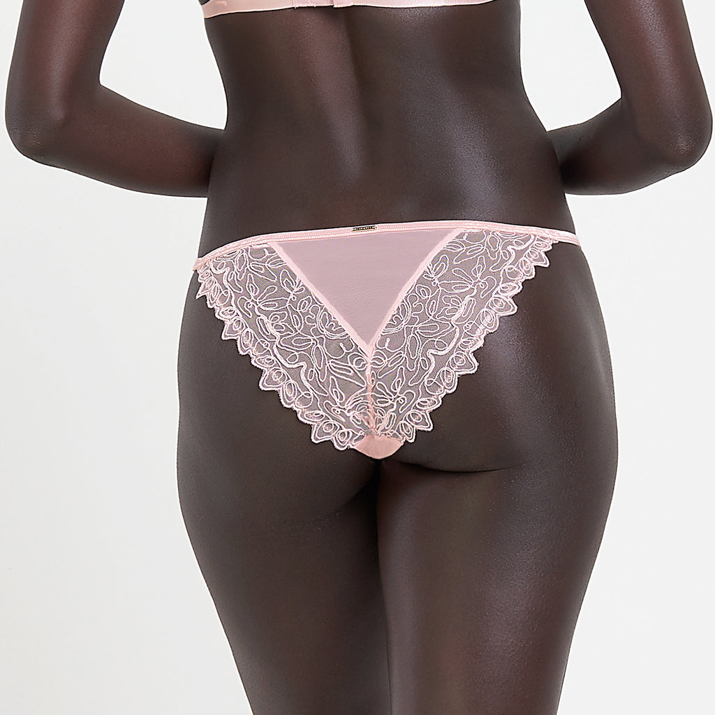 Audrey Brief Pale Pink
