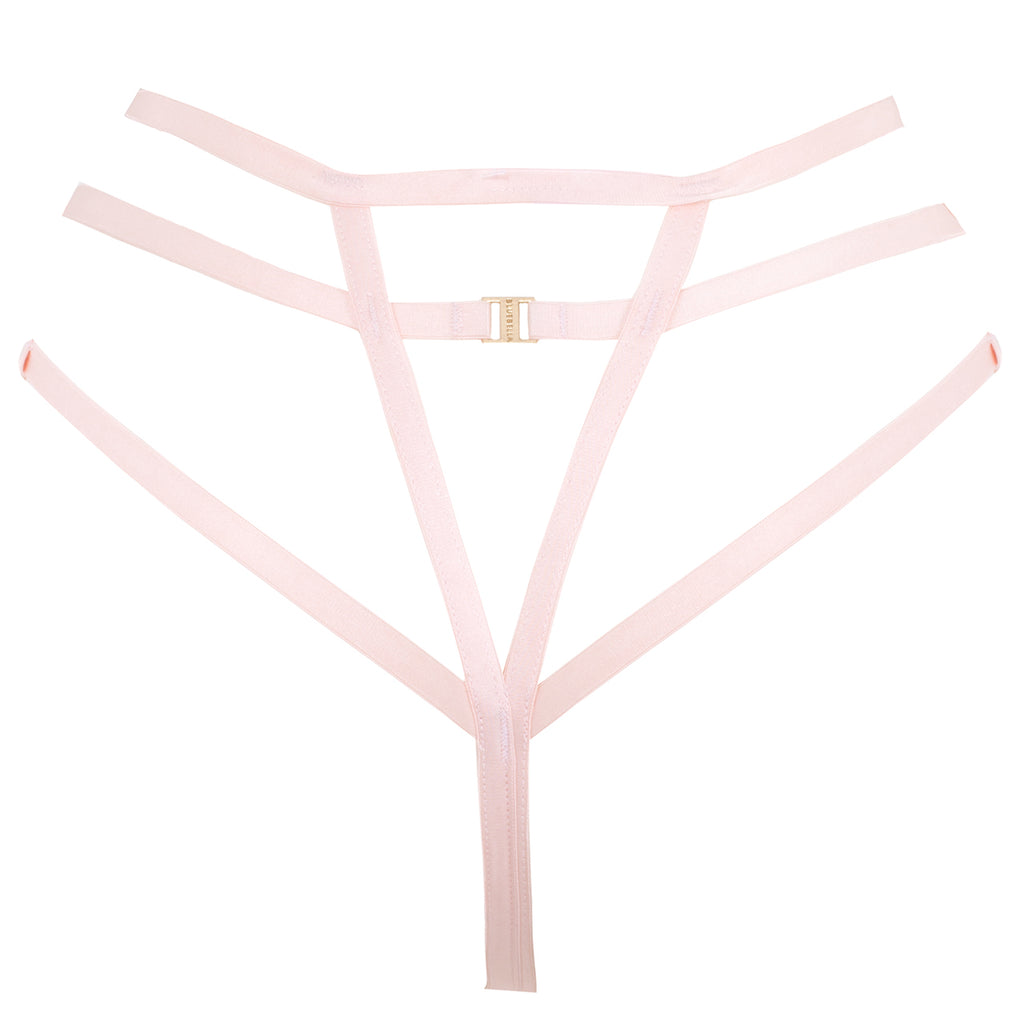Lennon High-waist Thong Pale Pink