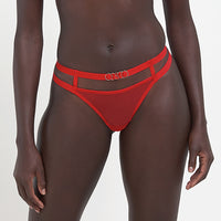 Orion Thong Red