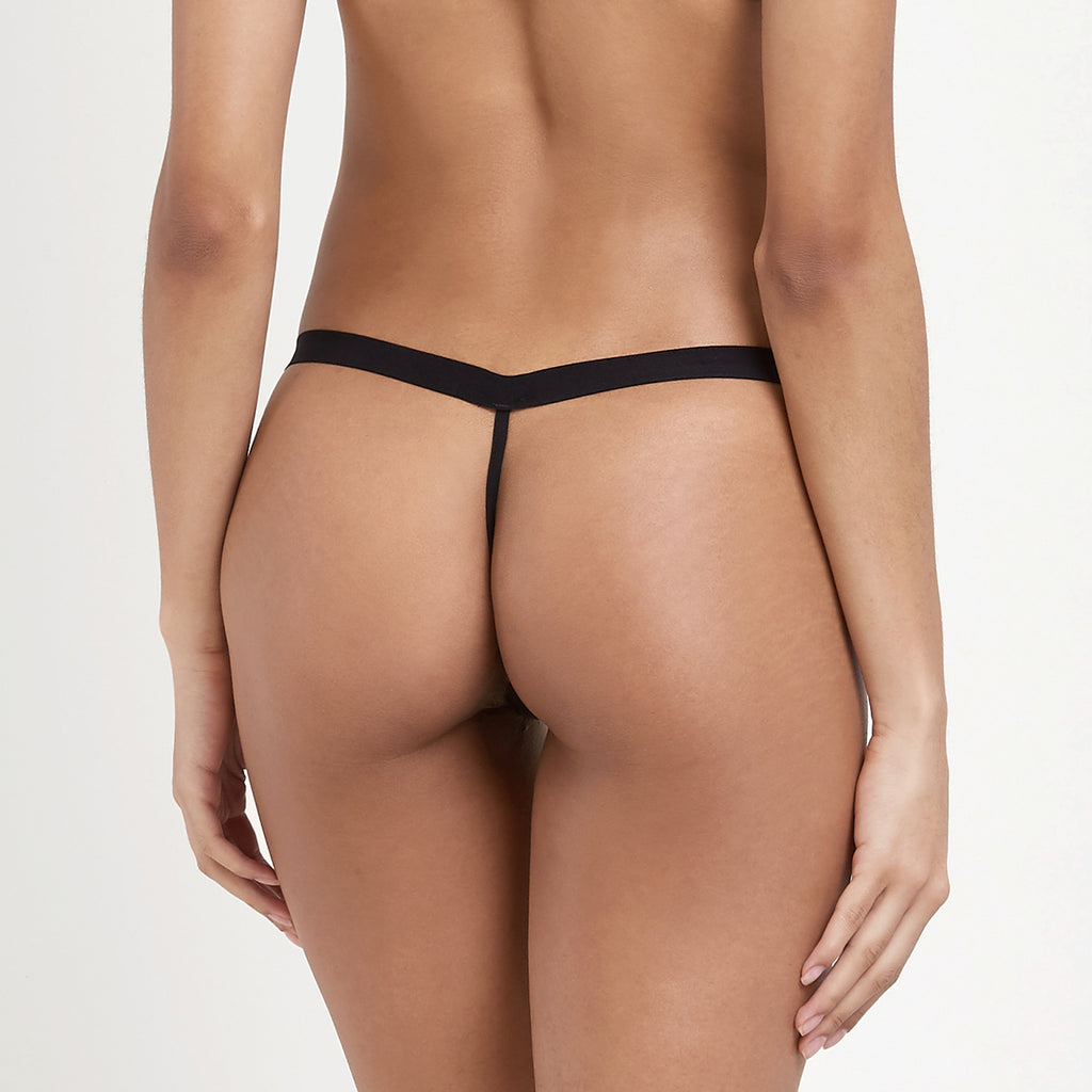 Lilia Thong Black