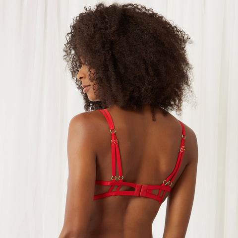 Emerson Bra Red