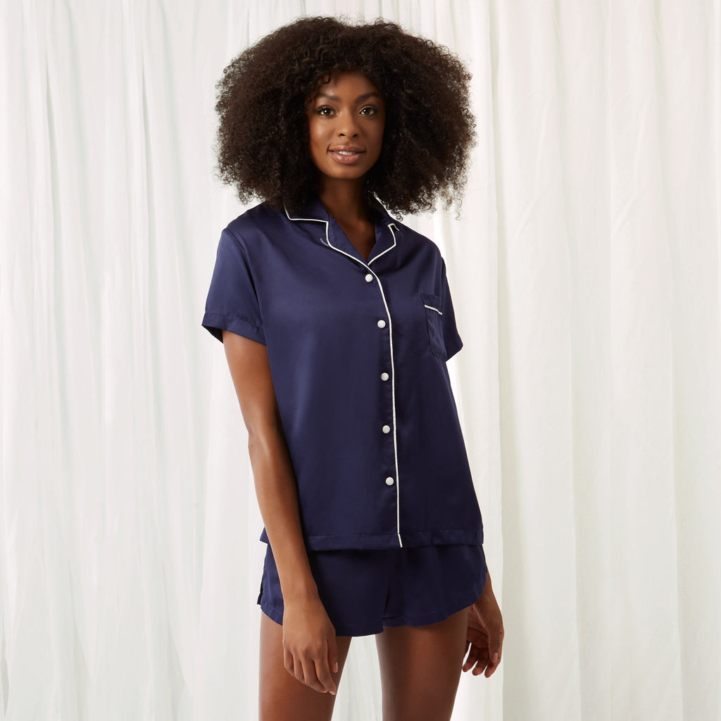 Claudia Shirt and Short Blue