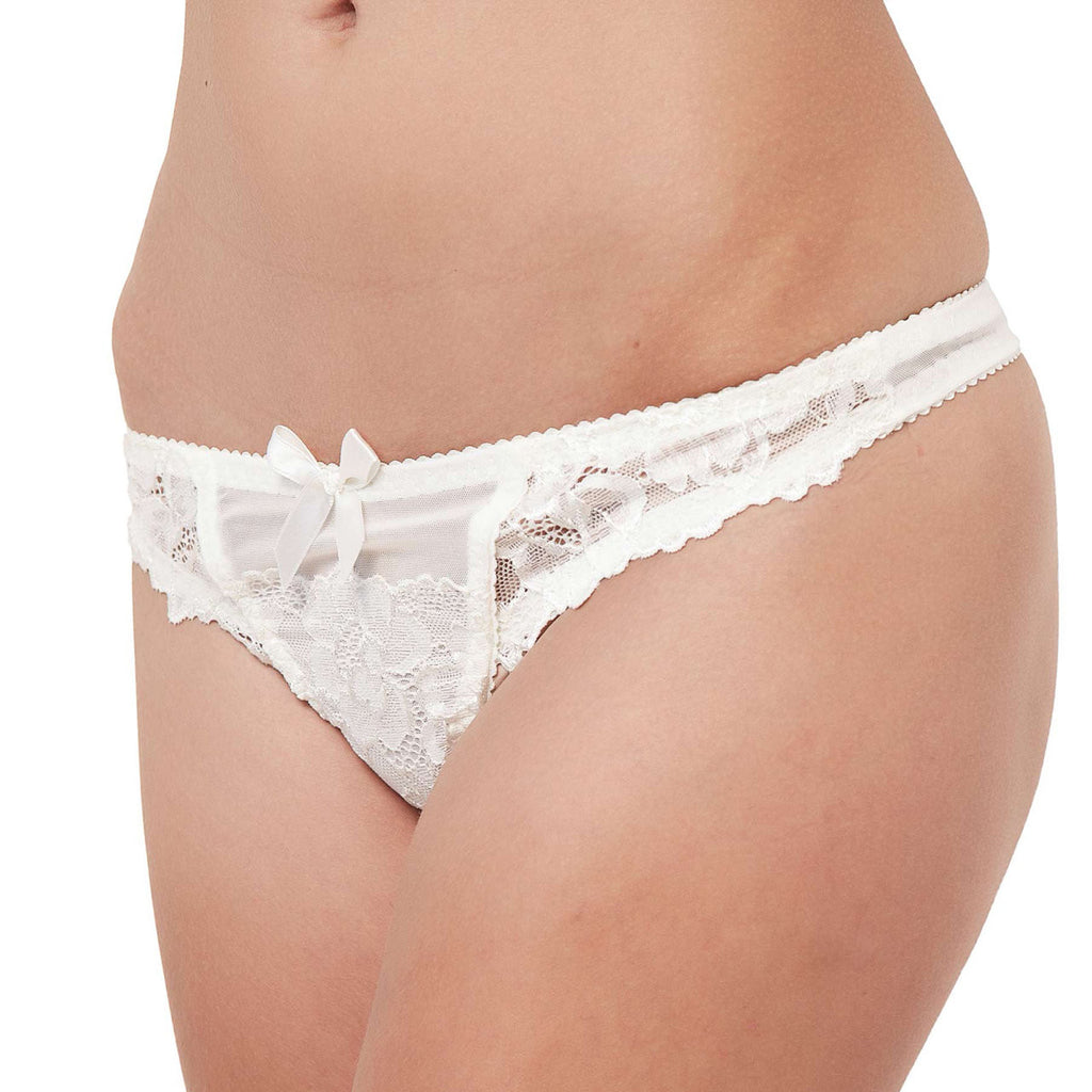 Brooke Thong Ivory