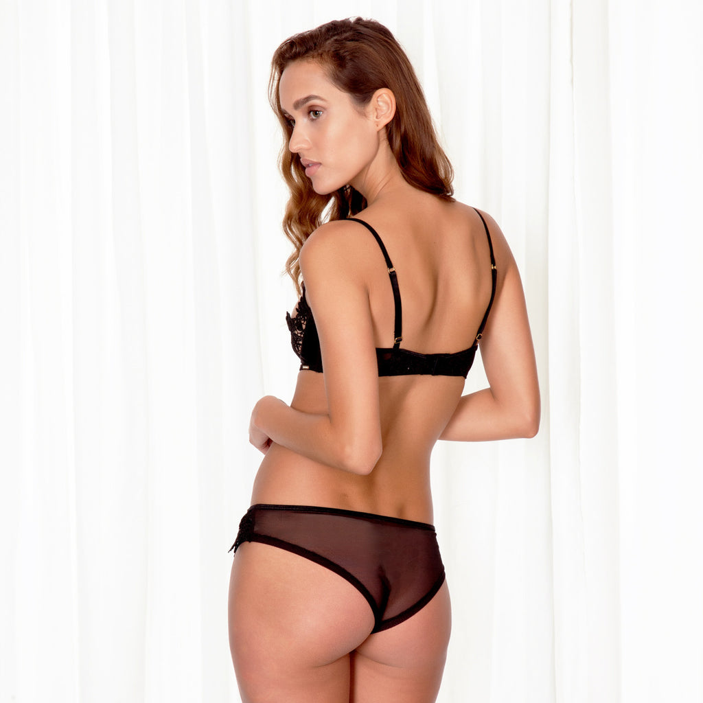 Christabel Brief Black