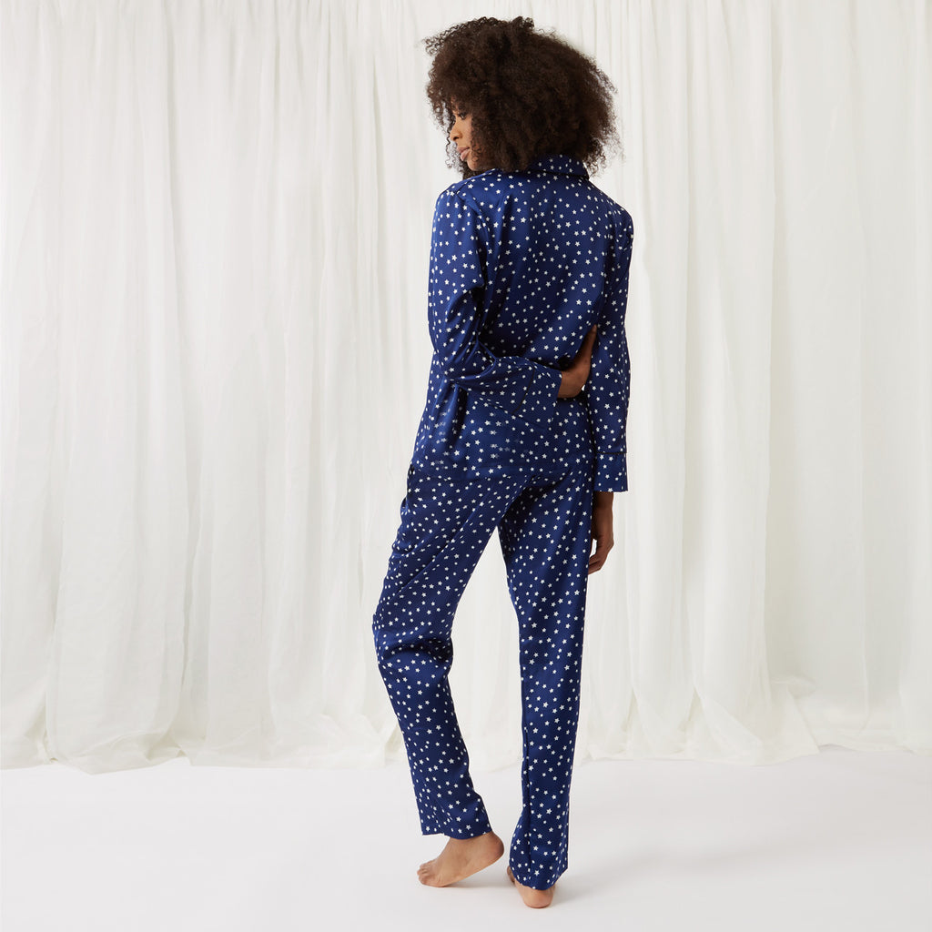 Celeste Shirt and Trouser Set Blue