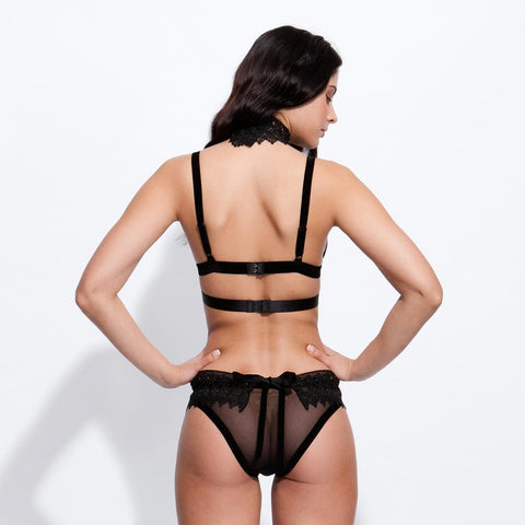 Ines Harness Black