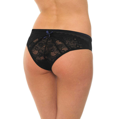 Vivienne Brief Black/Blue