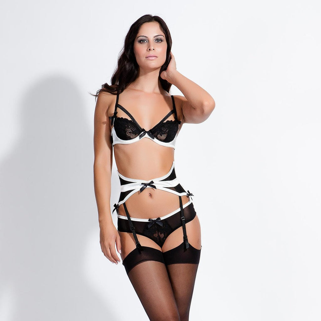 Vivienne Brief Black/Ivory