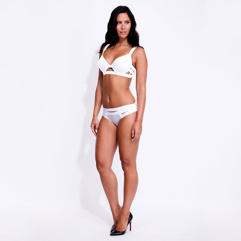 Angelina Brief White