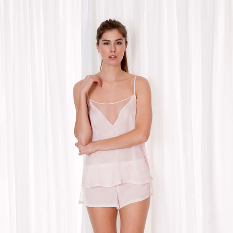 Caitlin Cami and Short Set Pink