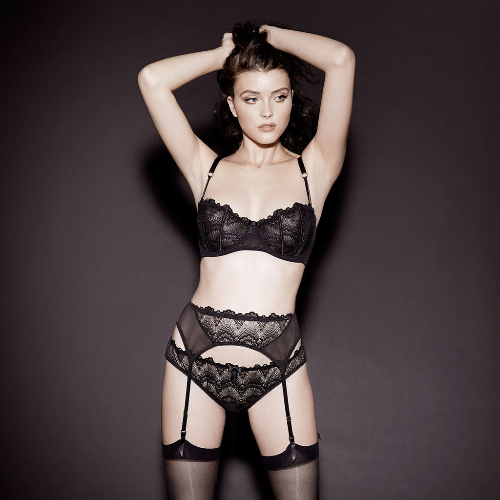 MORE Lucia Suspender Black